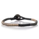 Wakami Enjoy經典編織手環-黑色