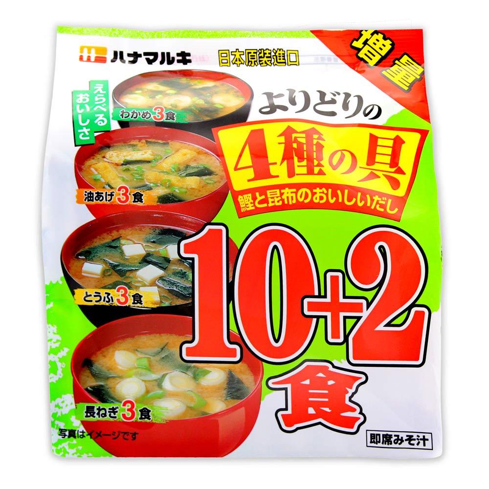 日本 信州綜合味噌湯(12入/袋)