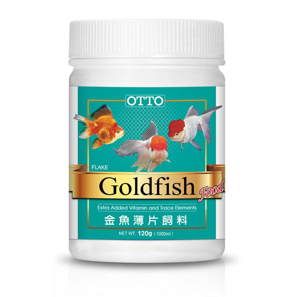 OTTO奧圖 金魚薄片飼料 120g X 2