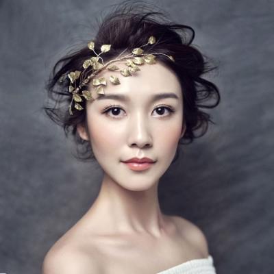 梨花HaNA-六月花嫁系列手工新娘金色年代葉子物語