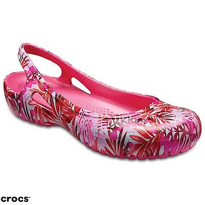 Crocs 卡駱馳 (女鞋) 卡笛露跟鞋 205078-96G