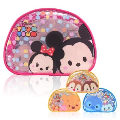 Disney迪士尼Tsum Tsum防水透明化妝包 萬用包