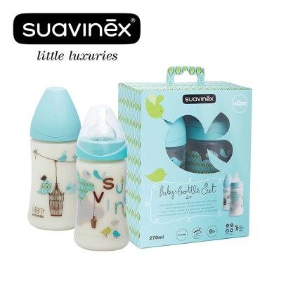 奇哥 suavinex 寬口奶瓶二入禮盒