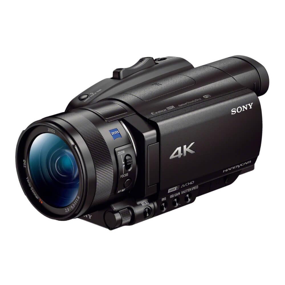 SONY 4K 數位攝影機 FDR-AX700 128G高速卡長效電池組 (公司貨) @ Y!購物