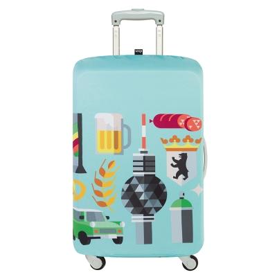 LOQI 行李箱套-新柏林 (L號-適用28吋以上行李箱)