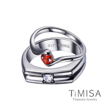 TiMISA 幸福時刻(4色可選) 純鈦對戒