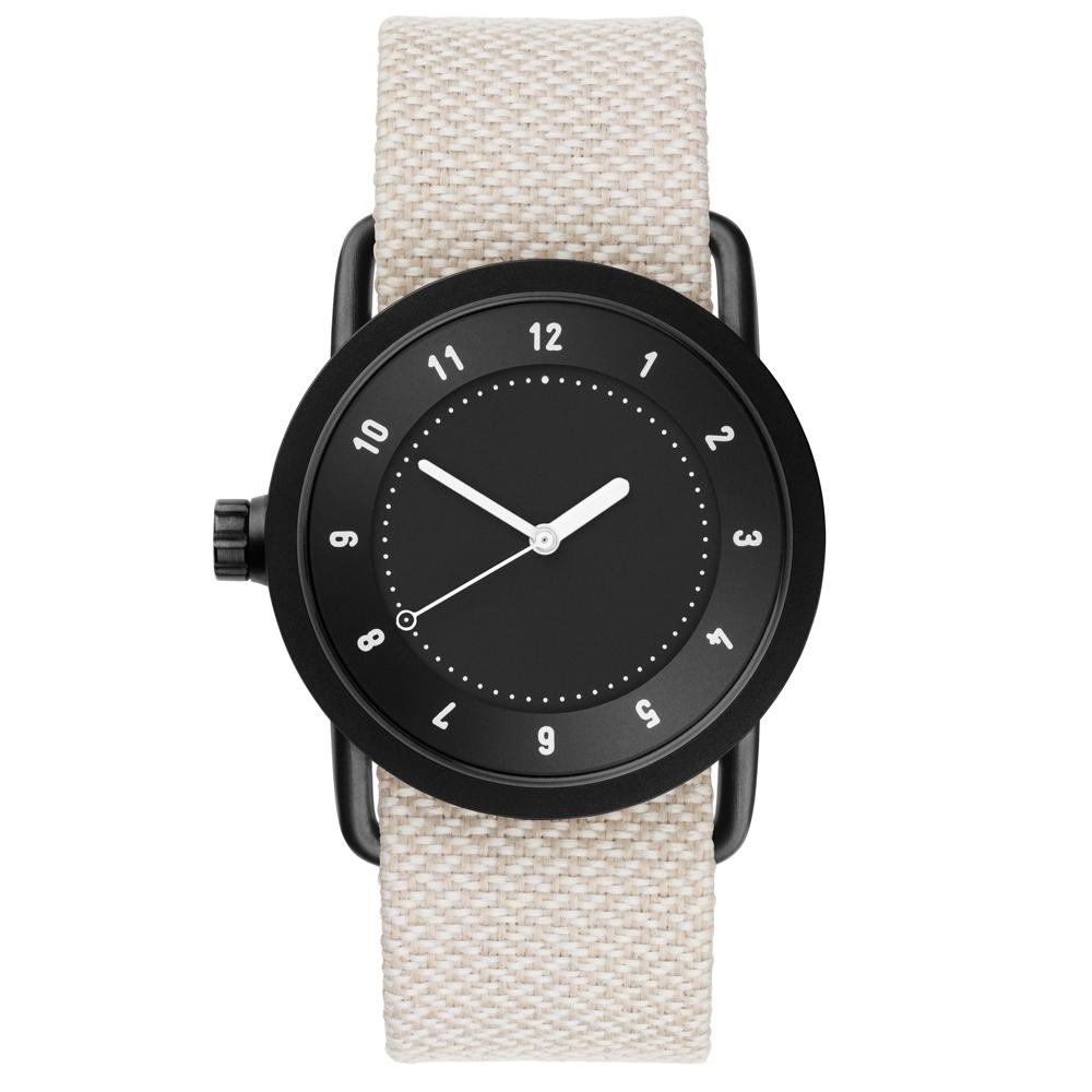 TID Watches No.1 Black 黑x淺灰/36mm