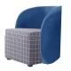 品家居-恩可亞麻布實木造型椅凳-三色可選-62x6