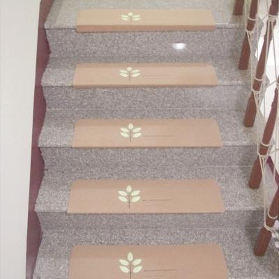 樓梯專用 夜光減音舒適地墊(70X20.5X4X0.3cmX3片)