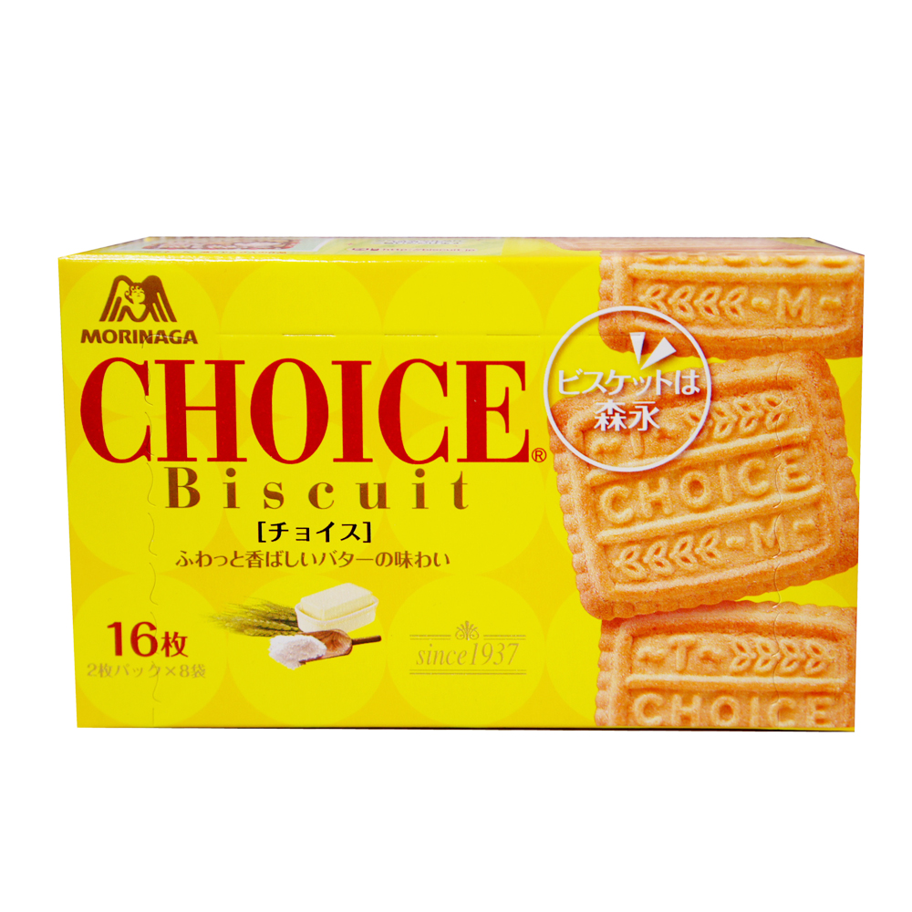 森永製果 CHOICE牛奶餅(139.2g)