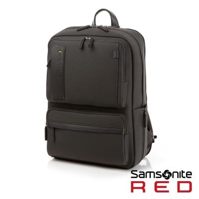 Samsonite RED BUSETTE經典商務中性筆電後背包-15.6吋(灰)