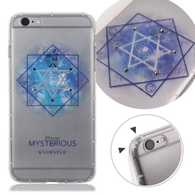 KnowStar APPLE iPhone6s Plus奧地利水晶彩繪防摔氣墊鑽...