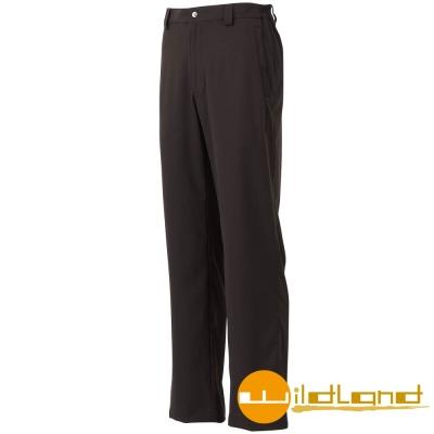 【Wildland 荒野】W1316 男 彈性抗UV休閒長褲 (93深灰色)