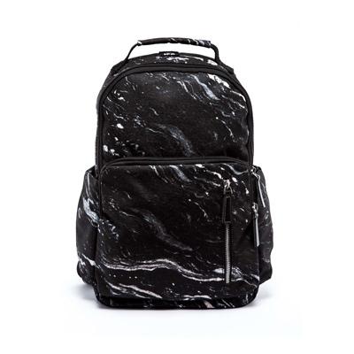 IPC雙肩後背包-黑色漩渦紋