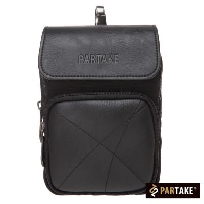 PARTAKE-A9系列-簡約腰掛包-黑-PT15