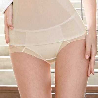 曼黛瑪璉-羽涼級-輕鬆塑-低腰三角塑腹褲-高雅膚