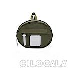CILOCALA 亮彩尼龍防潑水MINI TAMAGO側背包(迷你)  橄欖綠色