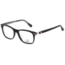 Dunhill 時尚光學眼鏡 (黑色)VDH033G