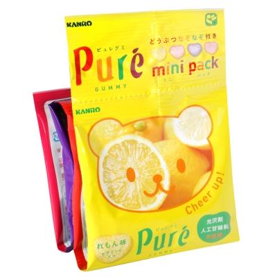 KANRO Pure軟糖迷你4連包(80g)