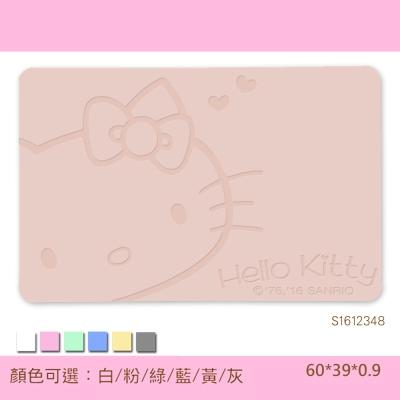 Hello Kitty珪藻土吸水地墊 -雕刻/ 復刻甜心