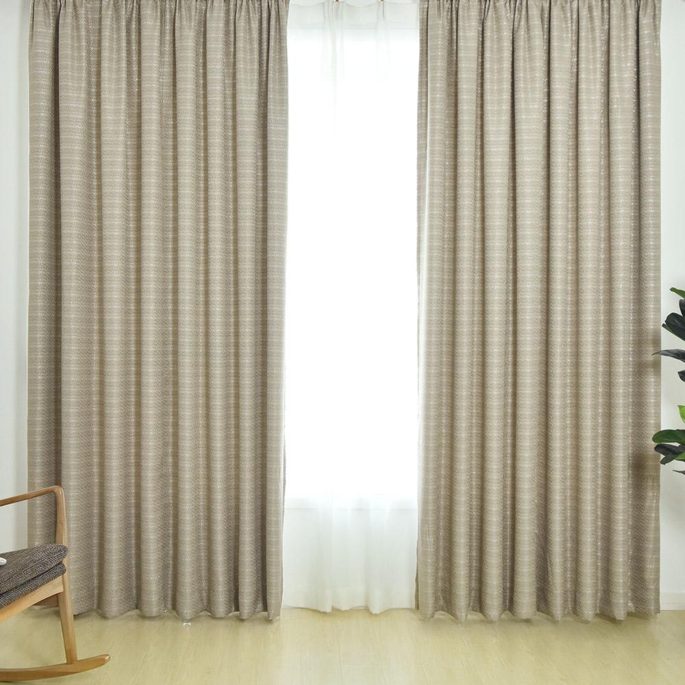 伊美居 - 艾克斯雙層遮光半腰窗簾 - 單片130x165cm (共2片)二色可選