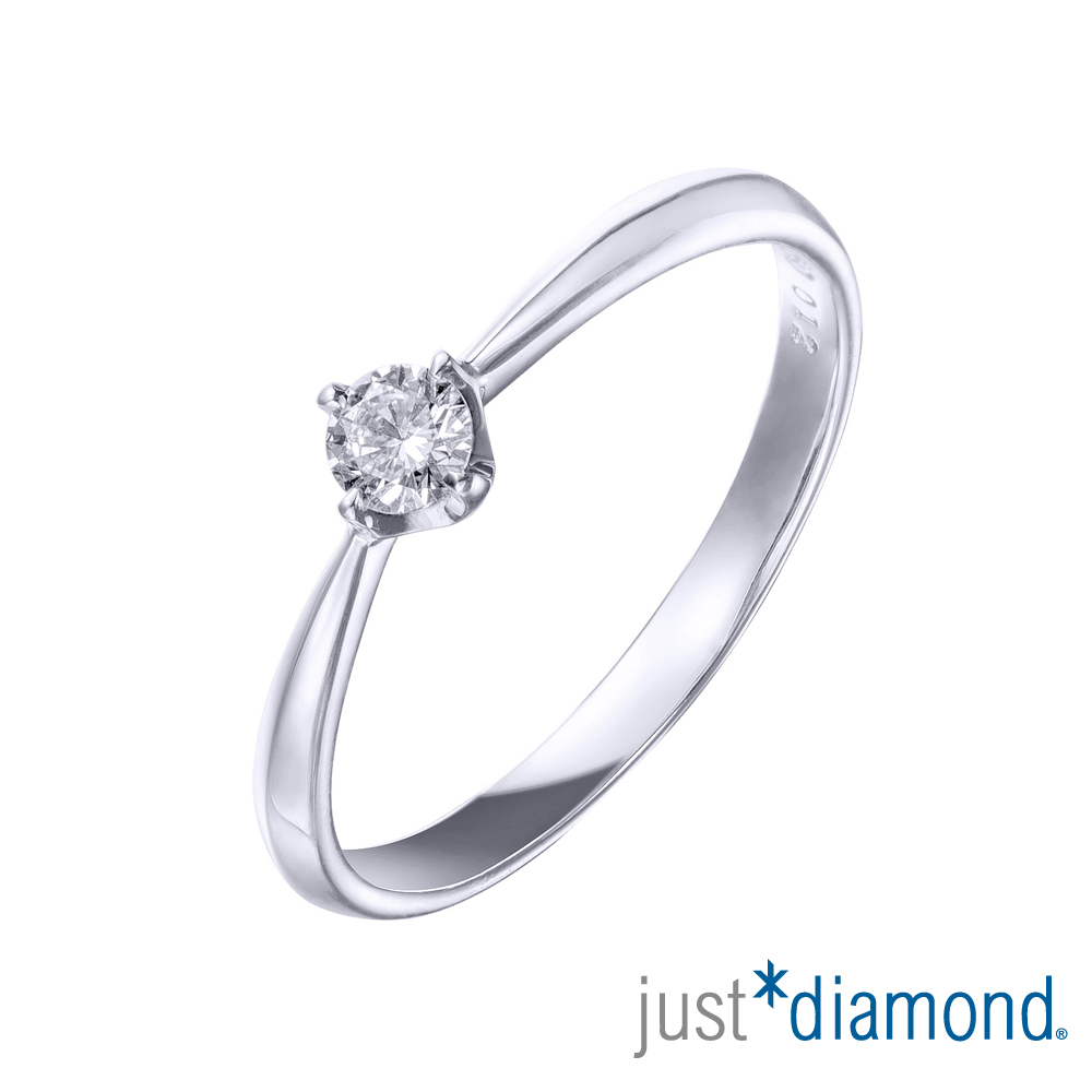 Just Diamond 12分18K金鑽石戒指-巧遇