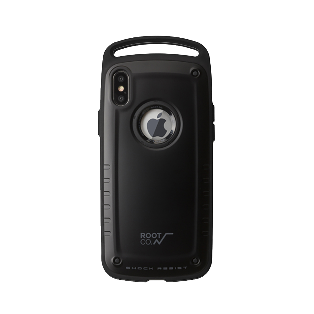 ROOT CO iPhone Xs/X Gravity Pro 抗衝擊軍規保護殼 (黑) product image 1