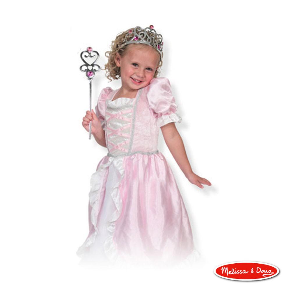 美國瑪莉莎 Melissa & Doug 裝扮遊戲 - 公主服遊戲組