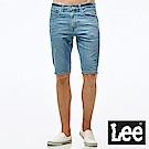 Lee 牛仔短褲 小破壞牛仔短褲/DC- 男款-淺藍