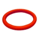3D 矽膠方向盤套 紅 product thumbnail 1