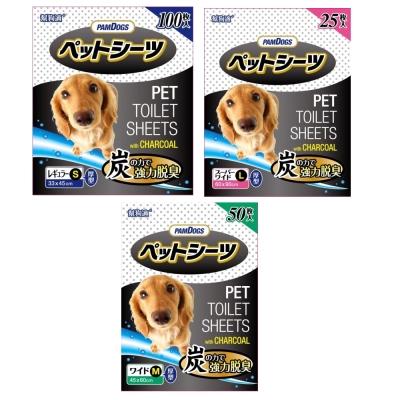日本幫狗適寵物 竹炭尿布 (單包)