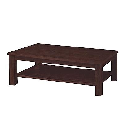Boden-森卡4.3尺胡桃色大茶几-129x66x50cm