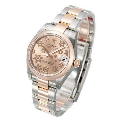 ROLEX 勞力士 Datejust 178241 蠔式恆動日誌型腕錶-玫瑰金櫻花版/31mm