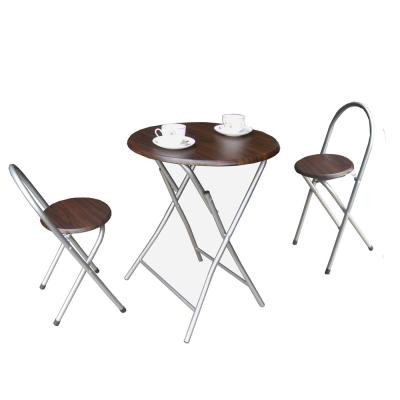 [頂堅]-[耐重型]折疊桌椅組(一桌二椅)二色可選