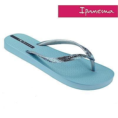 IPANEMA 經典炫彩夾腳拖-藍色