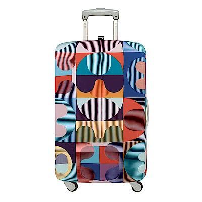 LOQI 行李箱外套 - 萬花筒 M號(適用22-27吋行李箱保護套)