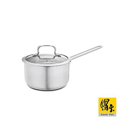 鍋寶 304不鏽鋼覆底湯鍋-18cm S-SS-4018-S