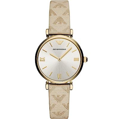 Emporio Armani Gianni T-Bar典雅時尚腕錶(AR11127)