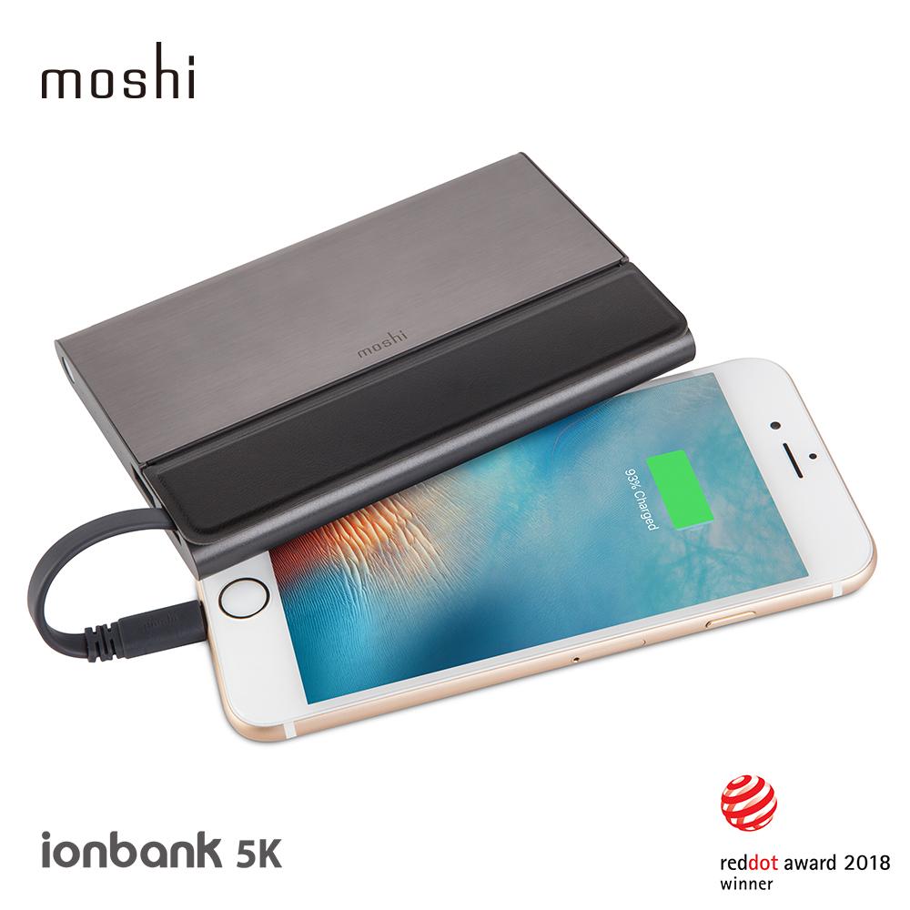 Moshi IonBank 5K 超容量鋁合金行動電源 3330 mAh product image 1