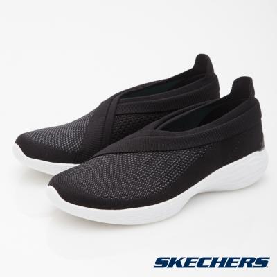 SKECHERS (女) 健走系列 YOU - 14955BKW