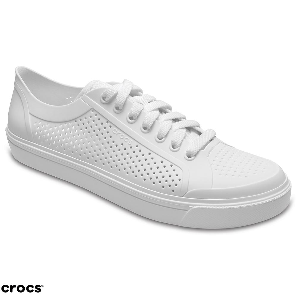 Crocs 卡駱馳 (男鞋) 都會街頭洛卡繫帶鞋 204872-143