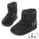 iki2網友最推薦-魅力機能性美腿短筒雪靴-黑 product thumbnail 1