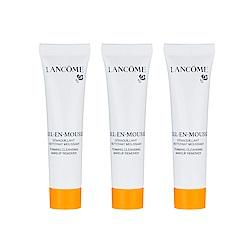 (即期品)LANCOME蘭蔻 蜂蜜卸妝潔顏油(15ml)x3