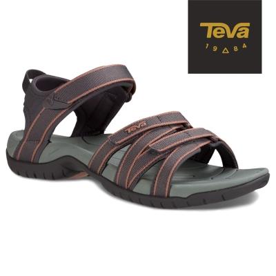 TEVA 美國-女 Tirra 機能運動涼鞋 (藕灰)