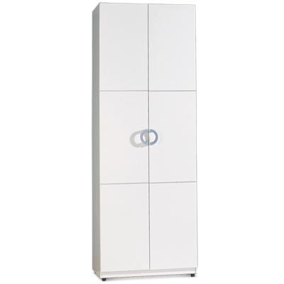 Home Style【迪亞娜】2.7尺白色單抽衣櫃