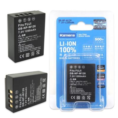 Kamera 佳美能 For FUJI NP-W126 高容量相機鋰電池