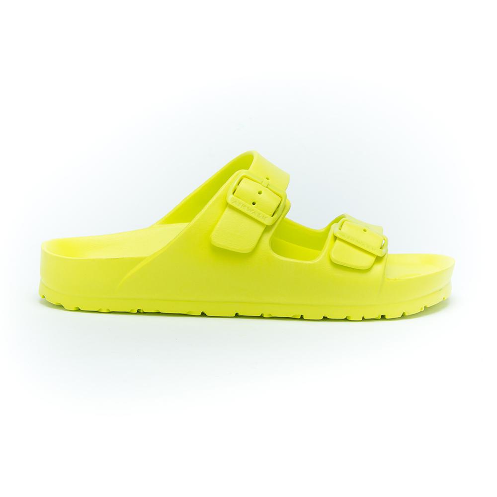 【AIRWALK】休閒雙扣環室內外AB拖鞋-淺綠