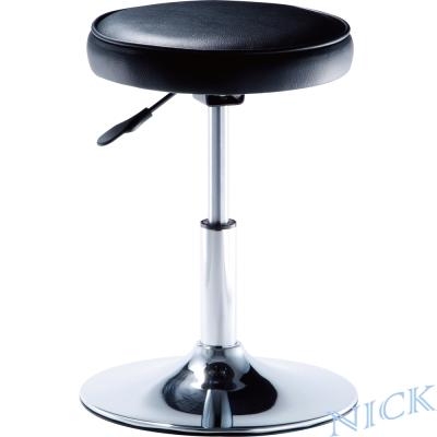 【NICK】圓型電鍍腳吧檯椅(圓盤腳座)