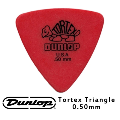 JIM DUNLOP JDGP-431R 0.50mm 三角造型吉他彈片 10片包裝