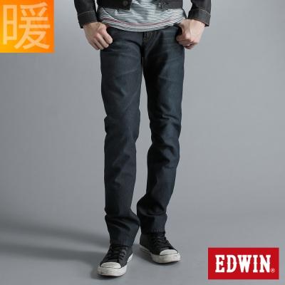 EDWIN 503ZERO雷射中直筒保溫褲-男款-酵洗藍
